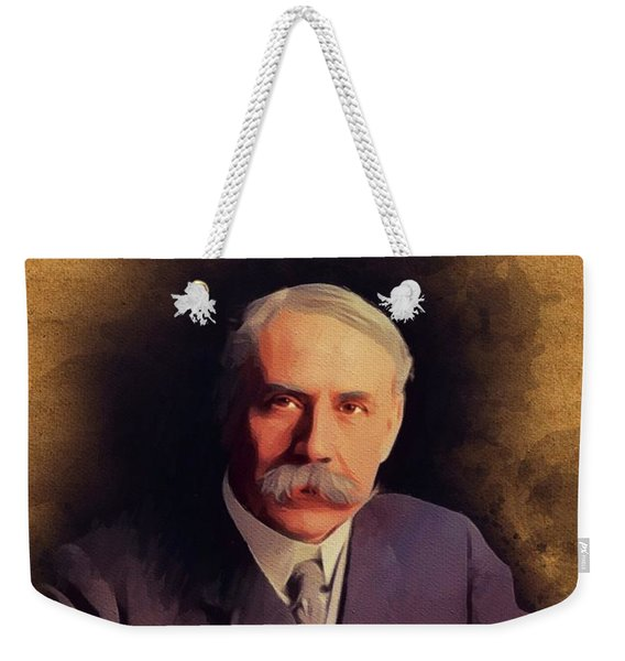 Edward Elgar, Music Legend Weekender Tote Bag