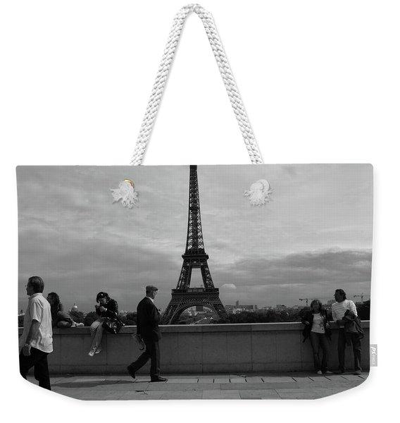 Eiffel Tower, Tourist Weekender Tote Bag