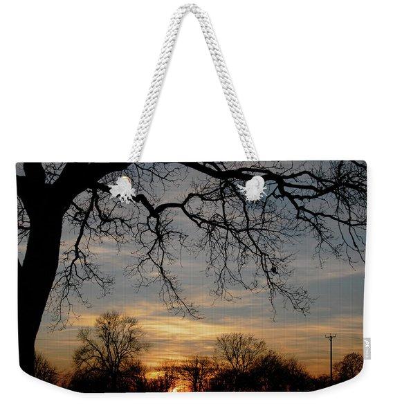 Evening Fades Away Weekender Tote Bag