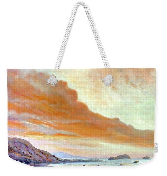 San Simeon Beach Weekender Tote Bag