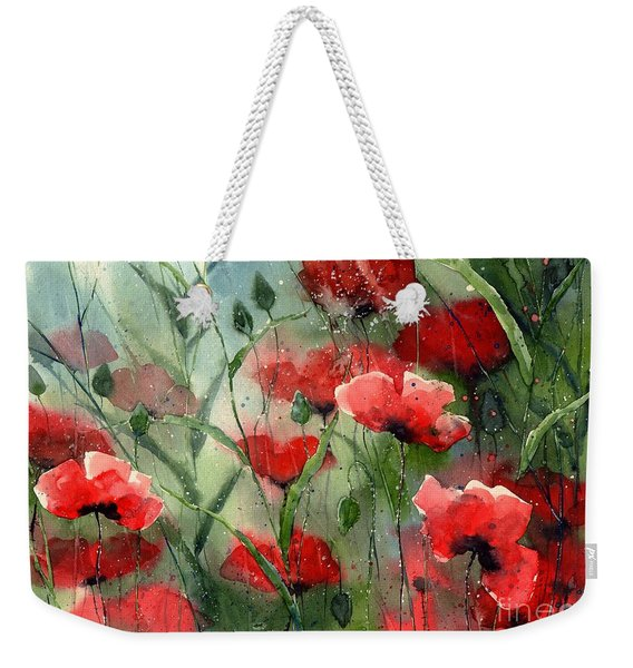 Everything About Poppies Weekender Tote Bag