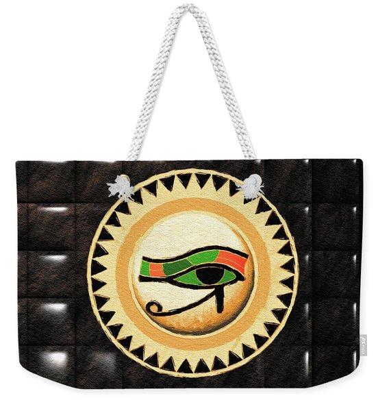 Eye Of Horus Weekender Tote Bag