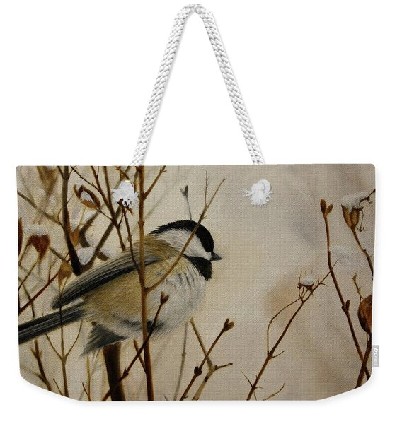 Faithful Winter Friend Weekender Tote Bag