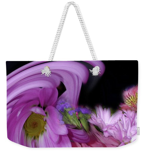 Weekender Tote Bag featuring the photograph Floral Tsunami by Wayne King