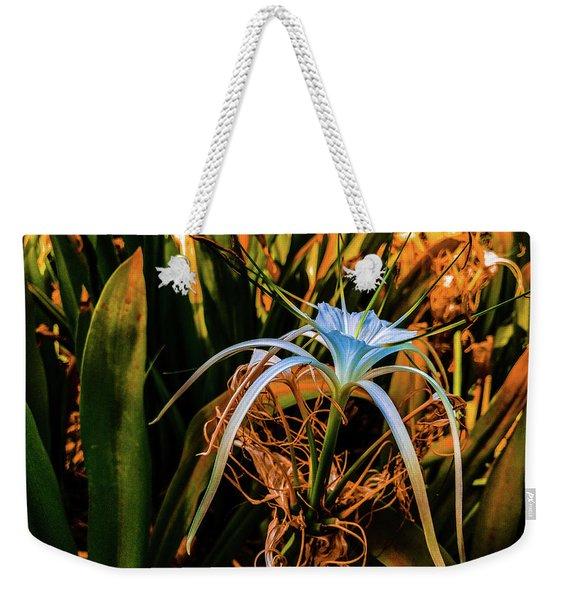Flower With Tentacles Weekender Tote Bag