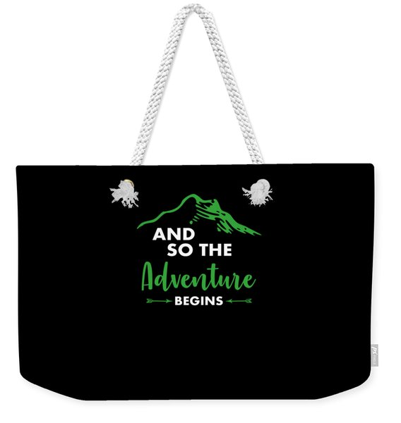 Funny Hiking Mountains Alps Nature Hiker Gift Weekender Tote Bag