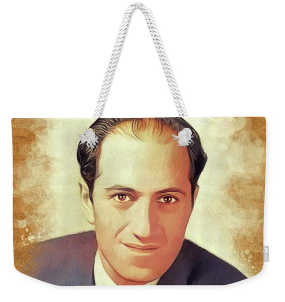 George Gershwin, Music Legend Weekender Tote Bag