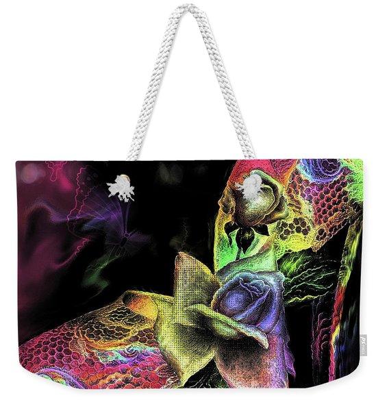 Glamorous Heels Weekender Tote Bag