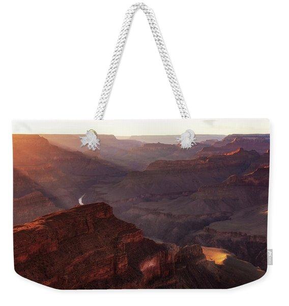 Glorious Light Weekender Tote Bag