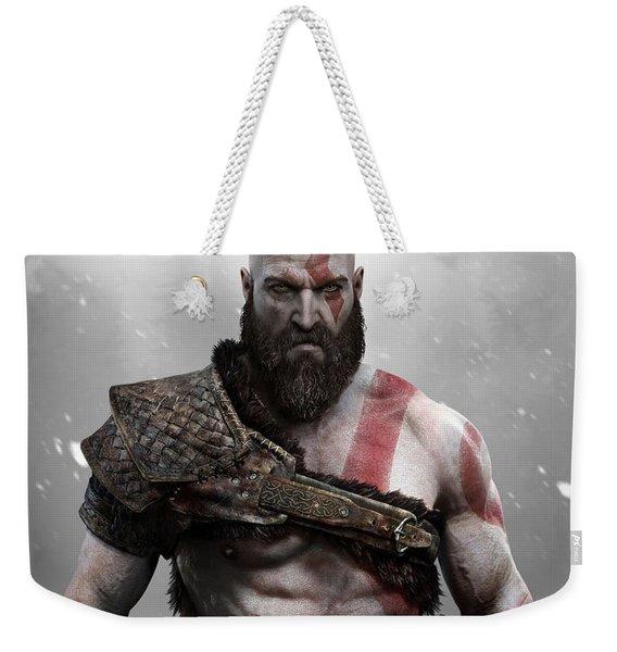 God Of War Kratos Weekender Tote Bag