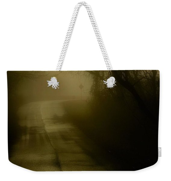Golden Fog Weekender Tote Bag