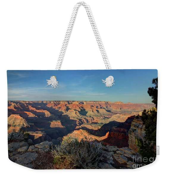 Grand Canyon National Park Spring Sunset Weekender Tote Bag