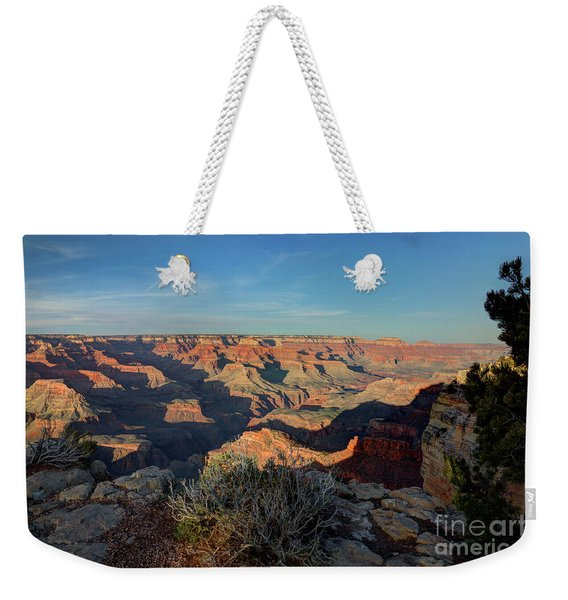 Grand Canyon National Park Spring Sunset Weekender Tote Bag