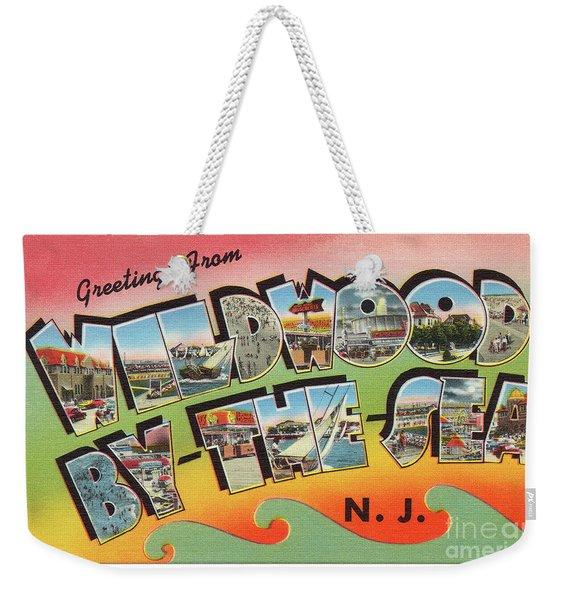 Wildwood Greetings - Version 3 Weekender Tote Bag