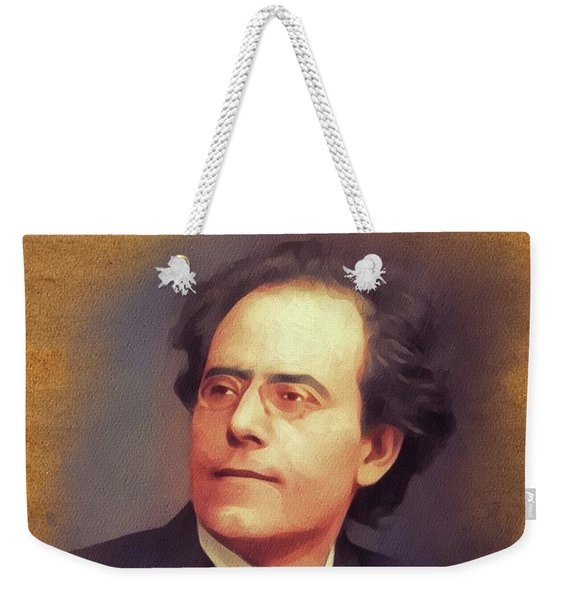 Gustav Mahler, Music Legend Weekender Tote Bag