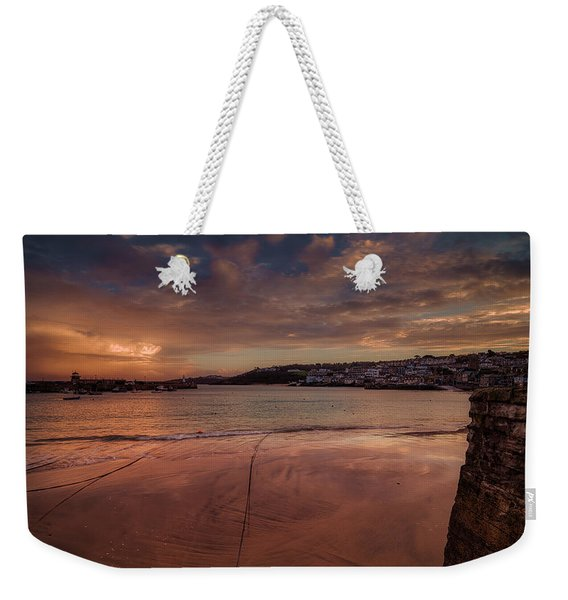 Harbour Sunset - St Ives Cornwall Weekender Tote Bag