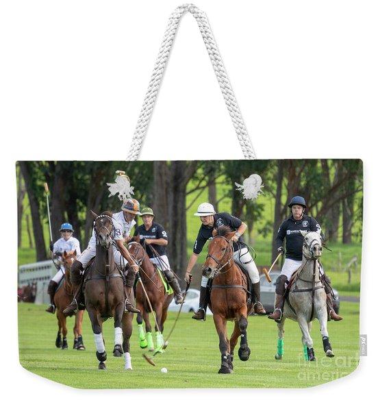 Hawaii Polo Weekender Tote Bag
