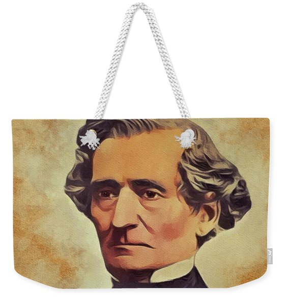 Hector Berlioz, Music Legend Weekender Tote Bag
