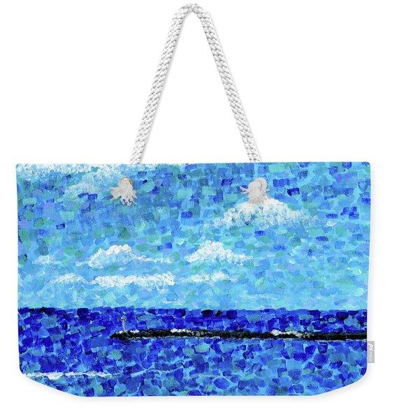 Hilo Bay Breakwater Weekender Tote Bag