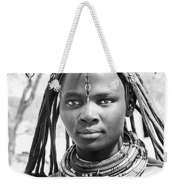 Himba Girl Weekender Tote Bag