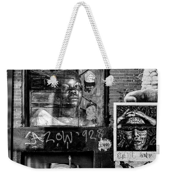 I Am The Change Weekender Tote Bag