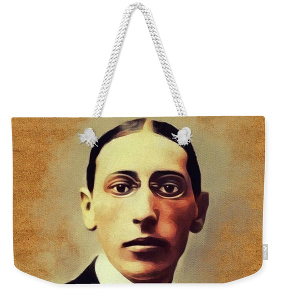Igor Stravinsky, Music Legend Weekender Tote Bag