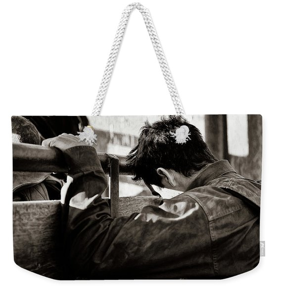Its The Joy And The Pain Weekender Tote Bag