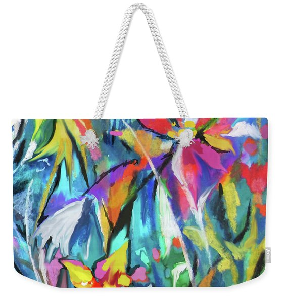 Jungle Garden Weekender Tote Bag
