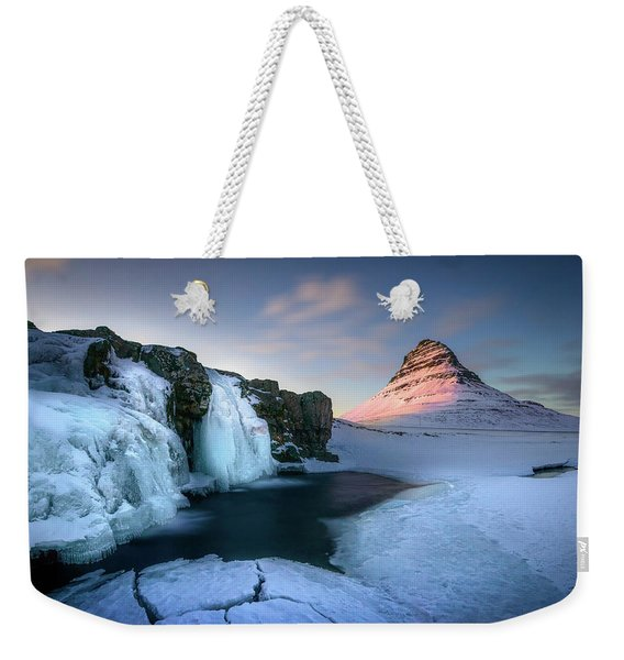 Kirkjufell, Iceland Weekender Tote Bag