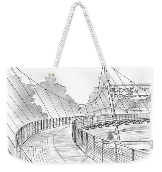 Liberty Bridge Weekender Tote Bag