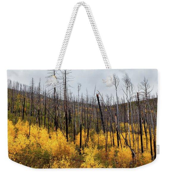 Life And Death Weekender Tote Bag