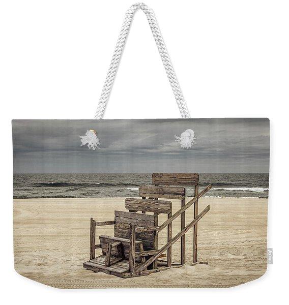 Lifeguard Stand Weekender Tote Bag