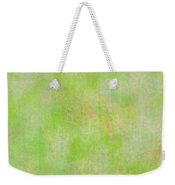 Lime Batik Print Weekender Tote Bag