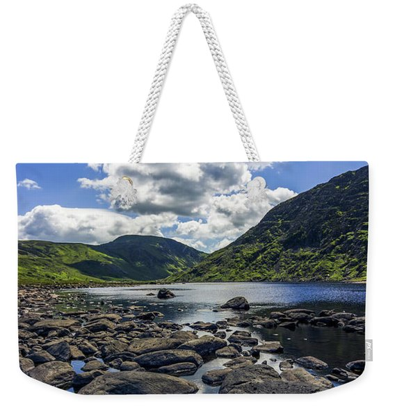 Llyn Eigiau Weekender Tote Bag