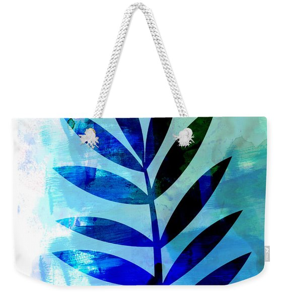 Lonely Leaf Watercolor II Weekender Tote Bag