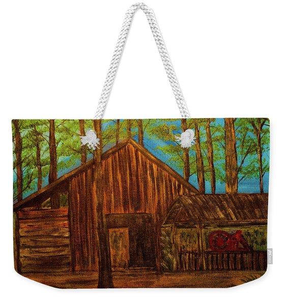 Lowe Barn Weekender Tote Bag