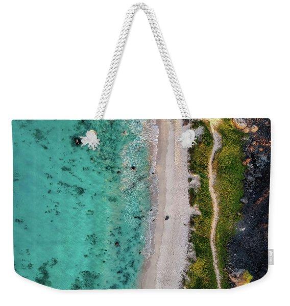 Makalawena Beach Weekender Tote Bag