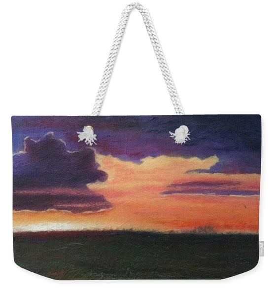 Marsh Sunset Weekender Tote Bag