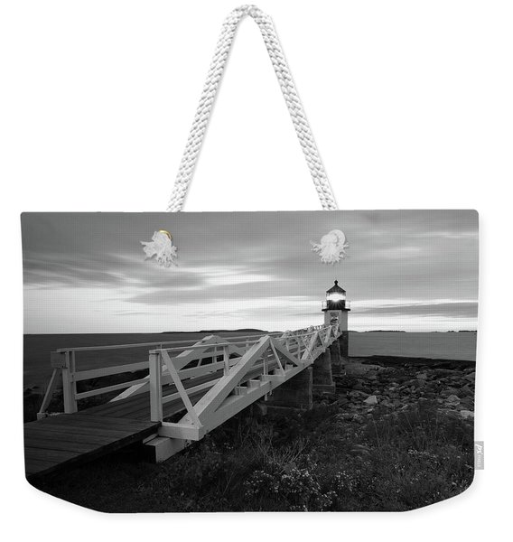 Marshall Point Light Weekender Tote Bag