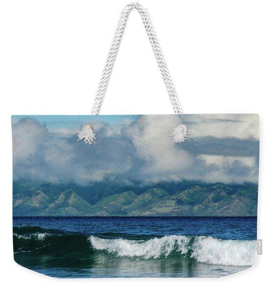 Maui Breakers Weekender Tote Bag