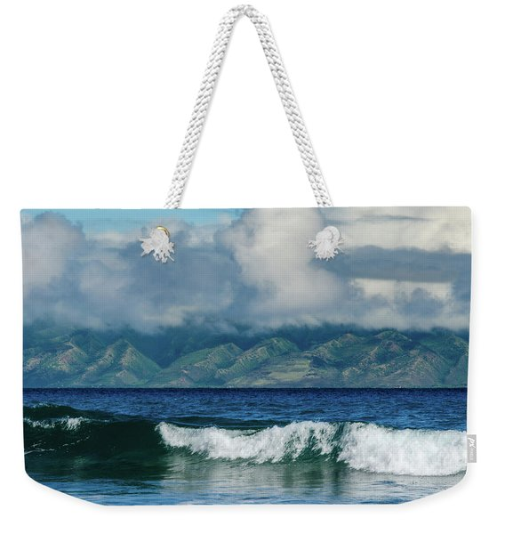 Maui Breakers Weekender Tote Bag