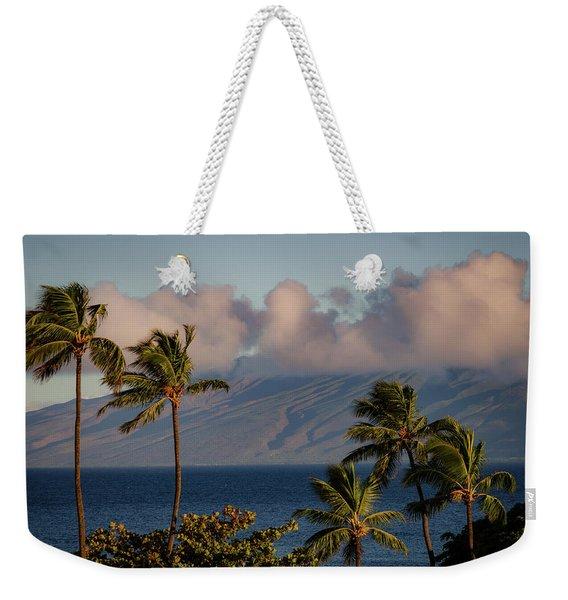 Maui Palms Weekender Tote Bag