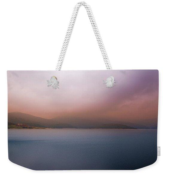 Misty Afternoon Weekender Tote Bag
