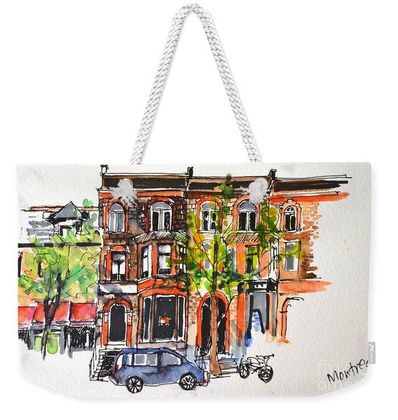 Montreal #1 Weekender Tote Bag