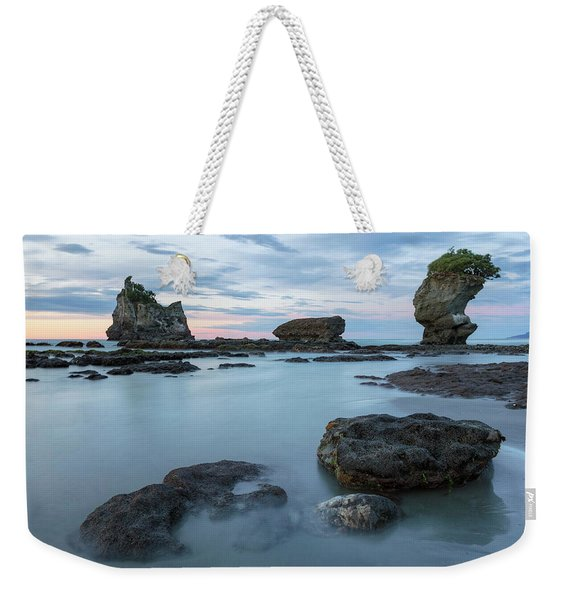Motukiekie Beach - New Zealand Weekender Tote Bag