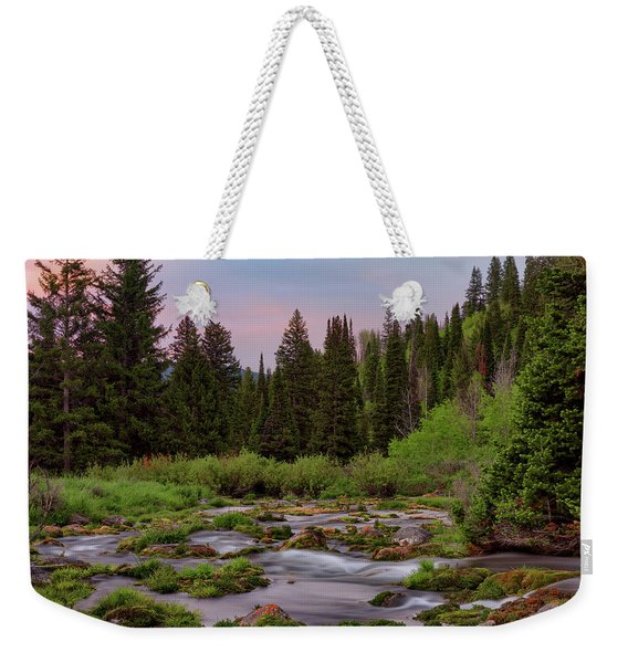 Mountain Spring Weekender Tote Bag