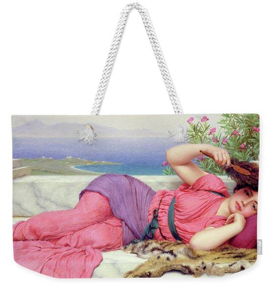 Noon Day Rest Weekender Tote Bag