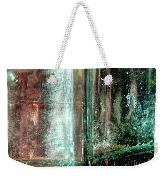 Old Glass Bottles Weekender Tote Bag