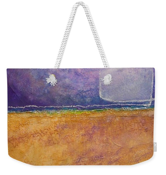 Weekender Tote Bag featuring the painting Old Home Fall by Kim Nelson