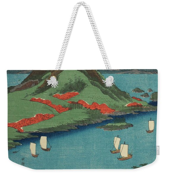 Osumi On Sakura Island, 19th Century Weekender Tote Bag